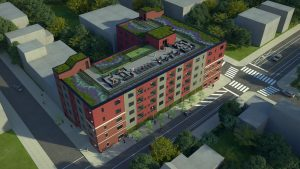 6th St. multi-family apartments rendering, Philadelphia